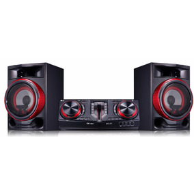 Mini System Lg Cj87 Xboom 1800w Rms - Multi Bluetooth, Dual