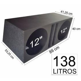 Caixa Pelego Box P/ Shocker Terremoto 1200w Dutada 138 Litro