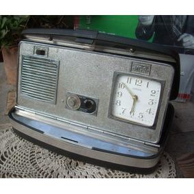 Antigua Radio Reloj Europa Msg 1970 Mod 10816 (6320)
