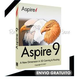 Vectric Aspire 9 Software + Pack Librerias