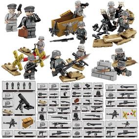 Soldados Segunda Guerra Mundial Alemania Compatible Con Lego