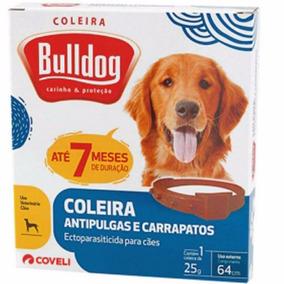 Coleira Carrapaticida Bulldog Caes Grande 64 Cm Coveli