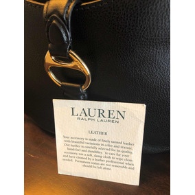 Bandolera Ralph Lauren De Cuero