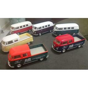 Coleção De Miniaturas De 6 Kombi Clássicas E Pickups