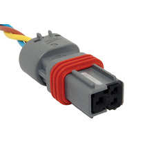 Conector Plug Soquete Chicote Sensor Pressão Rail Ranger