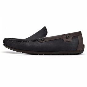 Zapato Karosso Kasual 90280 Negro Choco Piel