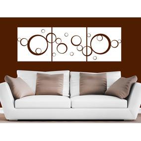 Elegante Vinilo Decorativo Círculos Geométrico Cuadros Sala