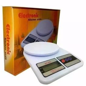 Balança Eletronica Digital 10kg Alta Precisão Com 2 Pinhas A