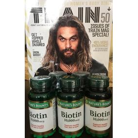 Biotin De Nature¿s Bounty Biotin 120 Pastillas 10000 Mcg