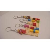 Portallaves Build-on Diseño De Blocks De Construcción Lego