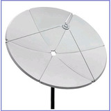 Antena Parabolica De Chapa Multiponto 1,50mts Frete Grátis