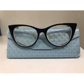 Armacao Oculos Gatinho Branco Fendi - Óculos no Mercado Livre Brasil 4eeb789348