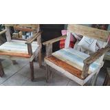 Sillon Palets Madera Hogar Muebles Y Jardin En Mercado Libre - Sillon-palets-madera