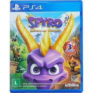 Spyro Reignited Trilogy Ps4 Ps5 Mídia Física Lacrado Nfe