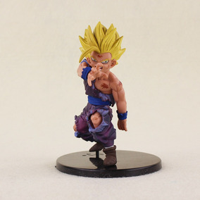 Action Figure Miniatura Estátua Gohan Dragon Ball Z 12cm