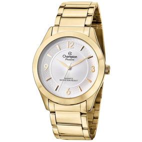 Relógio Champion Feminino Passion Dourado Cn28866h