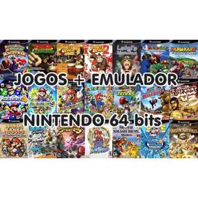 Super Pack Nintendo 64 Todos Jogos Com Emulador