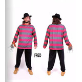 Fantasia Fred Crueguer Masculina Completa