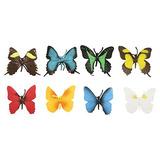 Safari Ltd Mariposas Toob Con 8 Pintado A Mano Modelos De Ju