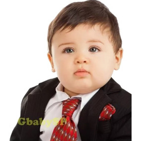 Terno Masculino Infantil Bebê Risca De Giz + Sapato + Brinde