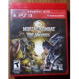 Mortal Kombat Vs Dc Ps3