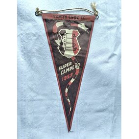 Antiga Flamula Do Santa Cruz Campeao 1957
