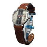 Vintage 1963 Reloj Omega Seamaster De Ville (esfera Platead