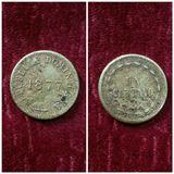 Moneda De Oro De República Dominicana 1877