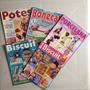 Lote Com 5 Revistas Biscuit Potes Bonecas Caixinhas De Jóias