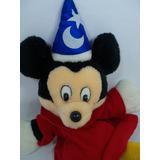 Mickey Mágico Fantoshe Mago Fantasia 40 Cm