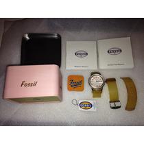 Fossil Sport Line Ka-1018 Reloj Resistente Al Agua 50 Metros