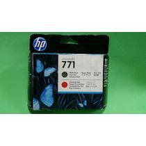 Ce017a Cabeça Impressão Hp 771 Original Black Red Chromatic