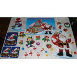 Decoração Aniversário Papai Noel Feliz Natal Painel Enfeites