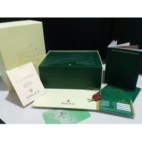 Estojo Caixa Relogios Rolex Original Medalha Manual Card 012