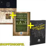 Kit Todos Personagens Da Bíblia + Quem É Quem + Quem É Quem
