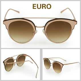 e9112e6fc2d44 Óculos De Sol Londres Feminino Marrom Euro - Óculos De Sol no ...