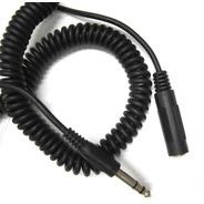 Cable Audifonos Extension Resortada De 3 Metros