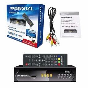 Novadigital Conversor De Tv Digital Função Gravador Dtv-100