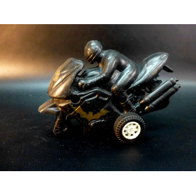 Moto Plastica Con Piloto 8cm Esc 1/24