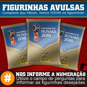Figurinhas Copa Do Mundo 2018 Rússia Panini Temos Todas