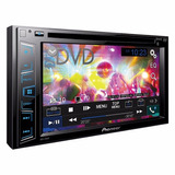 Dvd Pioneer Dos Din Bluetooth Usb Aux In Modeo Avh-290bt 17