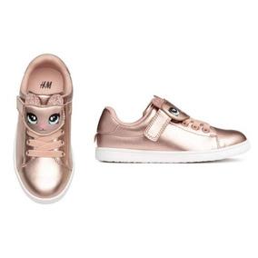 Zapatillas Nena H&m Importadas Usa Abrojos Calidad Metalicas