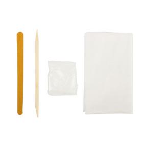 Kit Descartavel Manicure Com Toalha Palito De Bambu E Lixa.