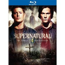 Supernatural: The Complete Fourth Season Blu-ray Nuevo