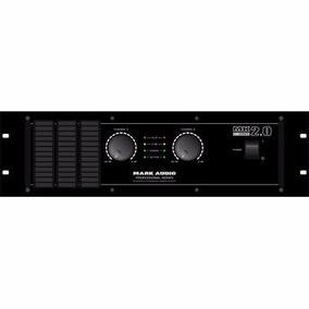Amplificador Potência Mark Audio 2000 Watts Rms - Oferta