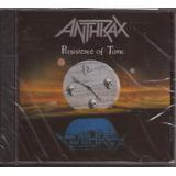 Anthrax Persistence Of Time Novo Lacrado Cd Importado Eua