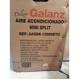 Aire Acondicionado Mini Split Galanz 12000 Btu Nuevo Blanco