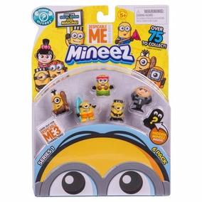 Minions Mineez Figuras Coleccionables X 6 - Giro Didáctico