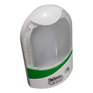 Kit C/8 Luz Noturna Tomada Mini Luminária Super Led E Sensor