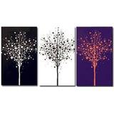 Cuadros Minimalistas Abstractos Decorativos Modernos 30x25cm